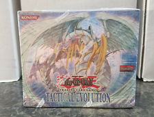 Tactical Evolution Yugioh English 1st Edition Booster Box - Brand New Sealed
