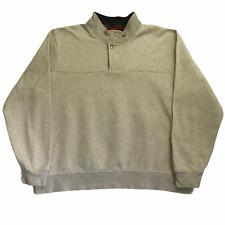 Orvis 1/4 Quarter Zip Sweatshirt Jumper Pullover Size XXL