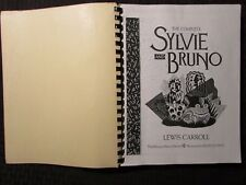 1991 THE COMPLETE SYLVIE AND BRUNO Uncorrected Proof FN+ 6.5 Lewis Carroll