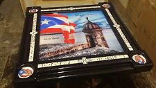 El Morro de Puerto Rico Personalized Domino Table by Domino Tables by Art