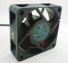 1pcs GP 6020 12V 0.18A D60SH-12C Fan