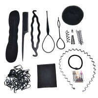 1 Set Hair Styling Accessories Tools Kit Hair Makeup Tool Kits Hair Braid NTPD