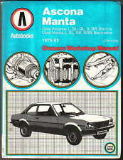buy manta paper car service repair manuals ebay rh ebay co uk