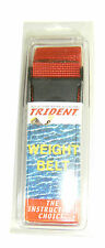 Scuba Diving Dive Weight Belt 58in Equipment Red WB36
