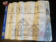 Blueprint House Plan  2-story