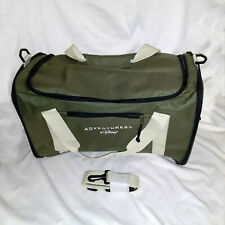 """Adventures by Disney"" Green Collapsible Duffel Bag with Handle & Shoulder Strap"