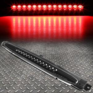 FOR 02-09 TRAILBLAZER ENVOY LED THIRD 3RD TAIL BRAKE LIGHT REAR STOP LAMP BLACK
