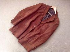 Brown Suede Mens Vintage Jacket