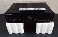 CAMBRIDGE AUDIO AZUR 640A INTEGRATED AMP - BLACK - ORIGINAL BOX - REMOTE