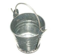 1:12 Dollhouse Miniature Bucket Drum Metal Iron Pail Home Kitchen Bar Decoration