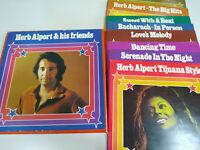 "Herb Alpert & His FRIENDS Box Collection Deutsch Ed 8 X LP 12 "" vinyl VG/VG - 3T"