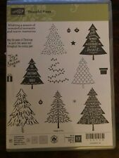 Stampin' Up! PEACEFUL PINES stamps & PERFECT PINES Framelit Dies