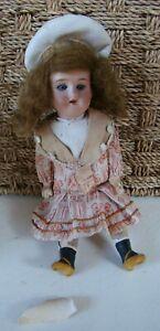 Très jolie petite poupée ancienne, mignonette 1909 DEP
