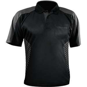 Harrows Vivid Dart Shirt - Black & Grey