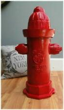 Red Fire Hydrant Full Size Antique Replica Casting Dated 1904 Vintage Style