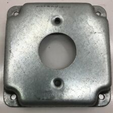 801C RACO NO CONCRETE COVER 4-INCH SQUARE RAISED 1/2-INCH 1-13/32-DEEP NEW OTHER