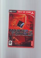 MASTER OF ORION 3 - 2002 SPACE RTS STRATEGY PC GAME - FAST POST - COMPLETE - VGC