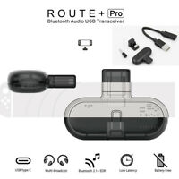 Route+PRO Bluetooth Type-C Adapter Transmitter Transceiver for Nintendo Switch