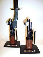 Support display stand for Mauser Kar 98 AZ bayonet