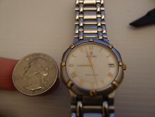 GENUINE CONCORD 18K / STAINLESS STEEL SARATOGA DATE MID SIZE MEN'S WATCH