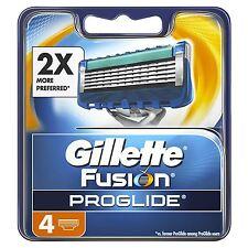 4 x Gillette Fusion ProGlide Men's Replacement Razor Blades with MicroComb Shave