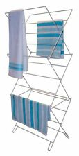 CLOTHES AIRER 3 TIER LAUNDRY DRYER CONCERTINA INDOOR OUTDOOR PATIO HORSE