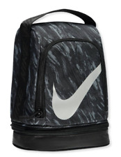 0ad40f4bb5c0 Nike Lunch Box 2 compartments Black Gray Bag Tote