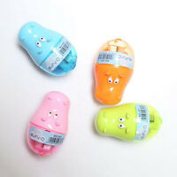 Stationery Hippo Pencil Sharpener with Two Student Kids Cute DSUK