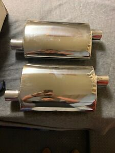 1966 Ford Mustang Chrome Mufflers