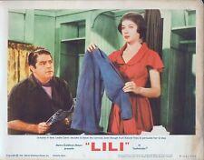 LESLIE CARON, Lili (R'64) Lobby Card #1, VG-FN