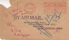 Birmania: 1951 sobres de Rangoon a kenzaung-devuelto al remitente