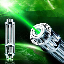 High Power  Strong Green Beam Laser Cannon Pointer Pen Torch Flashlight
