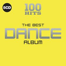 Music CD 100 Hits The Best Dance Album 5cd