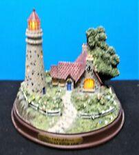 "Hawthorne Village Thomas Kinkade ""The Light of Peace"" Light-Up Figure 1999 Exc!"