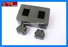 2 Pc DPDT Switch-Center Off-Rocker-Spring Action with Switch Box for Robotics