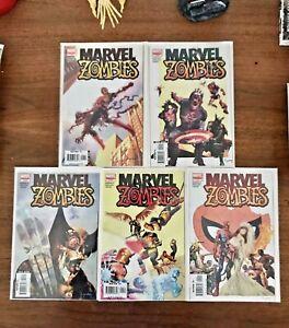 Marvel Zombies #1-5
