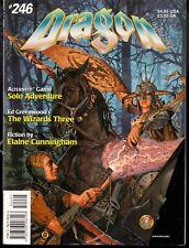 TSR DRAGON MAGAZINE VO ISSUE # 246 APRIL 1998