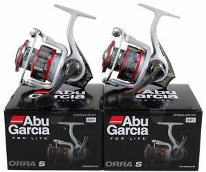 (LOT OF 2) ABU GARCIA ORRA S ORRA2S30 5.8:1 GEAR RATIO SPINNING REEL #1324546