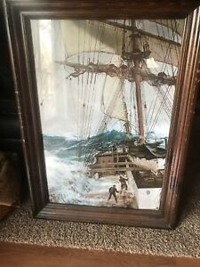 """MONTAGUE DAWSON -  """"Rising Wind""""- Framed, Oil Giclee on Canvas"""