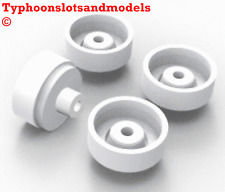 Team Slot 15.9 X 13.9mm Ruedas de Plástico x 4-E0003-se adapta a 2.5mm Eje-NUEVO