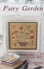 Fairy Garden Club Series #11 Blackbird Designs Cross Stitch Pattern