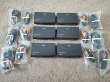 RCA 4 Way AV Video Source Selector Switcher With S-Video (Lot of 6)