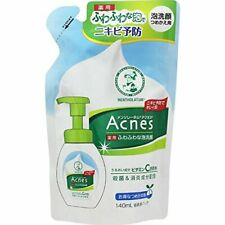 ROHTO Mentholatum Acnes Medicated Bubble Wash Cleanser Refill 140ml