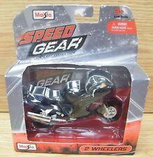 Maisto Honda Speed Gear DieCast Collection 1:18 Scale 2 Wheelers Honda CBR Black