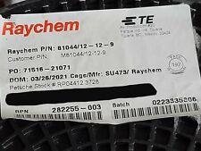 Raychemte M8104412 12 9 12awg Xlpaxlpvdf 150c600v Milspec Lead Wire 50ft