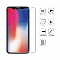 100% GENUINE TEMPERED GLASS FILM SCREEN PROTECTOR FOR APPLE IPHONE X - NEW