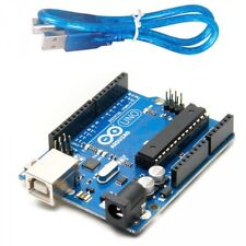 Arduino Uno R3 DIP + USB Set  A000066 Microcontroller And USB Wire Free shipping
