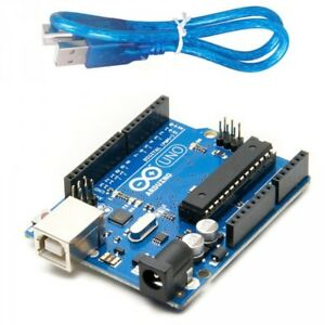 Arduino Uno R3 DIP + USB Set, OR A000066 Microcontroller Only, OR USB Wire Only