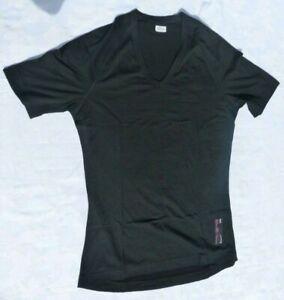 Rapha Merino Mesh Base Layer T Shirt Short Sleeve Black (Size Medium) 2013