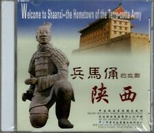 """WELCOME TO SHAANXI """"THE HOME OF THE TERRA-COTTA ARMY"""" VCD 2000 sealed"""